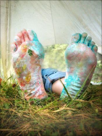 Jess feet